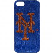 New York Mets Bling Gems Hard Case for Apple iPhone 5/5S - MLB Licensed