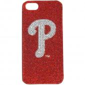 Philadelphia Phillies Bling Gems Hard Case for Apple iPhone 5/5S - MLB Licensed