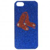 Boston Red Sox Bling Gems Hard Case for Apple iPhone 5/5S - MLB Licensed