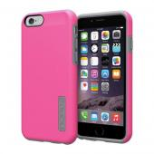 "Incipio Hot Pink/ Gray Apple iPhone 6 (4.7"") Dual PRO Series Rubberized Hard Case on Silicone Skin Case {IPH-1179-PNKGRY} - Fantastic Protection!"