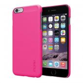 Incipio Pink Apple iPhone 6 Plus Feather Series Ultra Thin Rubberized Hard Cover Case {IPH-1193-PNK} - Perfect for Minimalists!