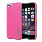 Incipio Hot Pink/ Gray Apple iPhone 6 Plus Dual PRO Series Rubberized Hard Case on Silicone Skin Case {IPH-1195-PNKGRY} - Fantastic Protection!