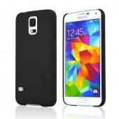 Incipio Black Feather Series Ultra Thin Rubberized Hard Case for Samsung Galaxy S5 - SA-527-BLK