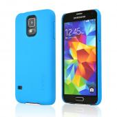 Incipio Turquoise (Cyan) Feather Series Ultra Thin Rubberized Hard Case for Samsung Galaxy S5 - SA-527-CYN