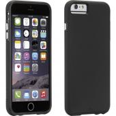 [Case-Mate Tough Series] Hybrid Case [Black] Slim Protective Rubberized Hard Cover on Silicone Skin Case [Great Protection and Perfect Fitting Apple iPhone 6 Plus (5.5 in) (2014) Case]