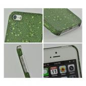 Apple iPhone SE / 5 / 5S  Case, Odoyo [Green Peridot] Mosaic Series Har Case w/ Raised Texture