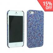 Odoyo Mosaic Series Sapphire Hard Case w/ Screen Protector for Apple iPhone 5/5S