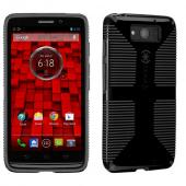 Speck Black/ Gray CandyShell Grip Series Hybrid Hard Case for Motorola Droid Ultra - SPK-A2145