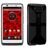 Speck Black/ Gray CandyShell Grip Series Hybrid Hard Case for Motorola Droid MAXX - SPK-A2168