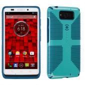 Speck Pool Blue/Deep Sea Blue CandyShell Grip Series Hybrid Hard Case for Motorola Droid MAXX - SPK-A2169