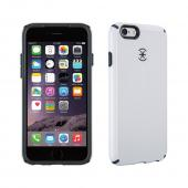 [Speck] Apple iPhone 6 [Speck] Hybrid Bumper Case [White/Gray] Heavy Duty Protective Dual Layer Rugged Bumper Hybrid Case [Great Protection and Perfect Fit for Apple iPhone 6 (Speck)]