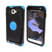 OEM Trident Cyclops Samsung Galaxy Note Hard Cover Case w/ Built-In Screen Protector - Blue/ Black