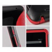 Trident Red/ Black Aegis Series Hard Case on Silicone w/ Screen Protector for Google Nexus 7
