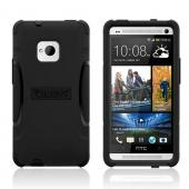 Trident Black Aegis Series Hard Case on Silicone w/ Screen Protector for HTC One