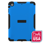 Trident Blue/ Black Aegis Series Hard Case Over Silicone w/ Screen Protector for Apple iPad Mini 2 - AG-APL-IPADMINI2US-BLU