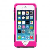 OEM Trident Aegis Apple iPhone 5/5S Hard Cover Over Silicone Case w/ Screen Protector - Pink/ Black