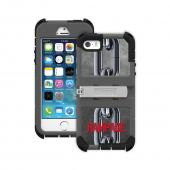 Trident Kraken AMS Rampage iPhone 5 / 5S Case | [Silver Chains on Gray / Black] Kraken AMS Rampage Series Rugged Protective Polycarbonate on Silicone Dual Layer Hybrid Case w/ Built-in Screen Protector for Apple iPhone 5 / 5S ( ) | Great Alternative to Ot