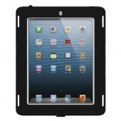 Trident Black Apple iPad 2/3/4 Kraken AMS Industrial Edition Hard Case on Silicone w/ Built-In Screen Protector {AMSID-APL-NEWIPAD-PTS002} - Perfect for Hospitals!