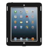 Trident Black/ Gray Apple iPad 2/3/4 Kraken AMS Industrial Edition Hard Case on Silicone w/ Built-In Screen Protector {AMSID-APL-NEWIPAD-PTS003} - Perfect for Hospitals!
