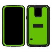 Trident Lime Green/ Black Cyclops Series Thermo Poly Elastomer (Super TOUGH) Hard Case w/ Built-In Screen Protector for Samsung Galaxy S5 - CY-SSGXS5-TG000