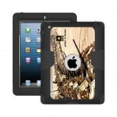 Trident U.S. Army Military Kraken AMS Series Hard Cover on Silicone Skin Case w/ Built-In Screen Protector for Apple iPad 2/3/4 - KN-APIPDNUBKK05
