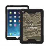 Trident U.S. Air Force Military Cyclops Series Green Camo Thermo Poly Elastomer (Super TOUGH) Hard Case w/ Built-In Screen Protector for Apple iPad Mini 1/2 - CY-APIPMR-BKK02