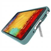 Seidio Teal Surface Series Rubberized Slide-On Hard Case w/ Kickstand for Samsung Galaxy Note 3 - CSR3SSGT3K-TL