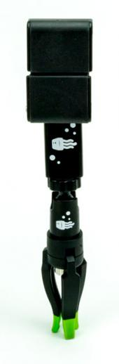 Square Jellyfish Black Spring Tripod Mount w/ Micro Ball Head & Jelly Legs Micro Tripod for Phones