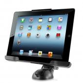 iOttie Black Easy Smart Tap Car & Desk Mount for Apple iPad (All Gen) - HLCRIO107