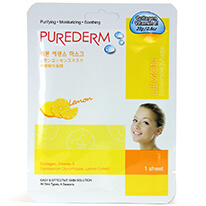 Purederm Essence Mask - Lemon