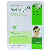 Purederm Essence Mask - Herb