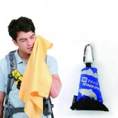N-Rit [Blue] Campack Large Cleaner 20.4x25.2 (52x64cm) Microfiber Cloth - Perfect for Hiking!