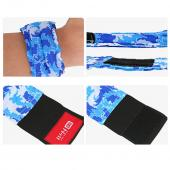 Cooling Wrist Band/Wrap for Sports, Exercise, Running, Hiking, Gardening - Just Wet and Stay Cool for Hours! - 2.5x11 inches [Green]