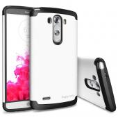 LG G3 Case - Ringke MAX Case [FREE HD Film-Slim Max Protection][WHITE] Double Layer Heavy Duty Protection Armor Case for LG G3 - Eco Package