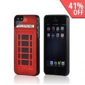 Red Telephone Booth Hard Case for Apple iPhone 5/5S