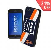MLB Licensed Detroit Tigers Hard Back Cover w/ Silicone Logo for Apple iPhone 5/5S