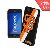 MLB Licensed San Fransisco Giants Hard Back Cover w/ Silicone Logo for Apple iPhone 5/5S