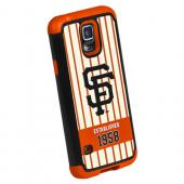 Forever Collectibles MLB San Francisco Giants Dual Hybrid TPU Samsung Galaxy S5 Rugged Case