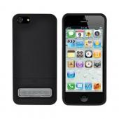 OEM Seidio Surface Combo Apple iPhone 5/5S Rubberized Hard Case w/ Kickstand & Holster - Black