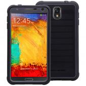 Body Glove Black/ Gray ShockSuit Series Hard Hybrid Case w/ Built-In Screen Protector For Samsung Galaxy Note 3 - 9376001
