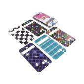 Original Dickies ICON HTC Thunderbolt Clear Hard Case w/ 6 Interchangeable Designs, 97002