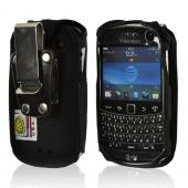 Black Turtleback Heavy Duty Ballistic Nylon Case w/ Steel Swivel Belt Clip for Blackberry Bold 9900