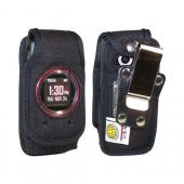 Original TurtleBack Premium Casio GZ'One Ravine 2 Heavy Duty Pouch w/ Steel Swivel Belt Clip - Black