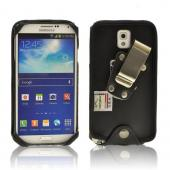 Black Turtleback Genuine Leather Pouch w/ Heavy Duty Steel Swivel Belt Clip for Samsung Galaxy Note 3