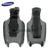 Original Samsung SCH-A670 holster w/ belt clip, ABC235SBEB - black