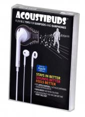 Burton Technologies Black 3 Pack Acoustibuds Earbuds Covers - EPB-BLACK