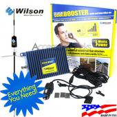 Wilson Electronics Amp and Trucker Mount Antenna Package, 811210 + 301101