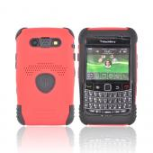 Original Trident Aegis Blackberry Bold 9780 9700 Hard Cover Over Silicone Case w/ Screen Protector, AG-BB-9780-RD - Red/Black