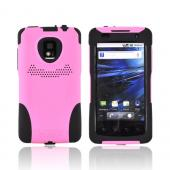 Original Trident Aegis T-Mobile G2X Anti-Skid Hard Cover Over Silicone Case, AG-LG-G2X-PK - Pink/ Black