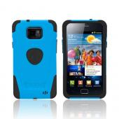 Original Trident Aegis AT&T Samsung Galaxy S2 Hard Cover Over Silicone Case w/ Screen Protector, AG-SGX2-BL - Blue/ Black